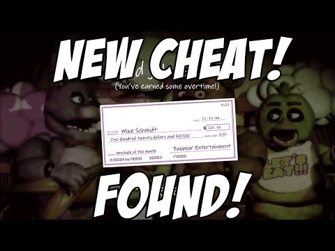 Five Nights At Freddys: NEVER BEFORE KNOWN CHEAT CODE FOUND! Skip Nights!