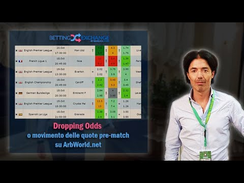 Dropping Odds O Movimento Delle Quote Pre-match Su ArbWorld.net