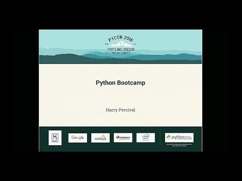 (PARTIAL) Harry Percival - Python Bootcamp - PyCon 2016