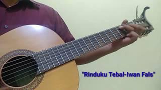 Rinduku Tebal-Iwan Fals | Acoustic karaoke version (cover by Gitar Akustik)