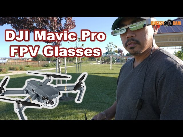 FPV Glasses for DJI Mavic Pro Inspire or Phantom Drones Epson Moverio BT-300FPV
