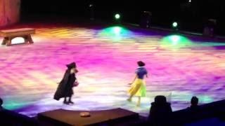 Disneyオンアイス『デアトゥドリーム』白雪姫20140927鹿児島アリーナに...