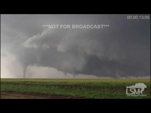 5-24-16 Dodge City, KS Tornadoes Time Lapse