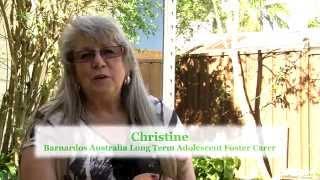 Meet Christine- Barnardos Australia Adolescent Foster Carer