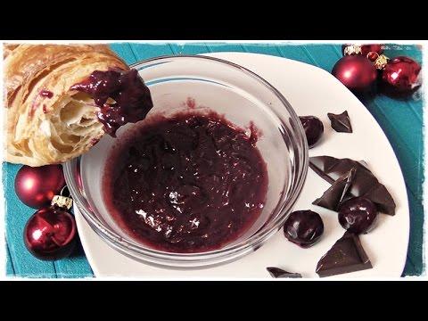 fruchtige 🍒 KIRSCHMARMELADE🍒 mit MARZIPAN und SCHOKOLADE🍫 | Kirschkonfitüre