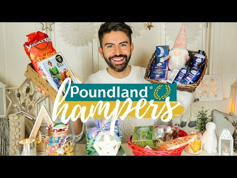 POUNDLAND CHRISTMAS HAMPER GIFT IDEAS ON A BUDGET 2020 | UNDER £10 | MR CARRINGTON