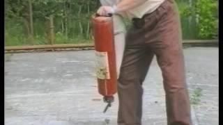 видео Купить Огнетушитель воздушно-пенный ОВП-8 (з)