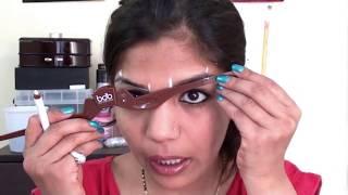 perfect eyebrow shaping at home   billion dollar brows tutorial   superprincessjo