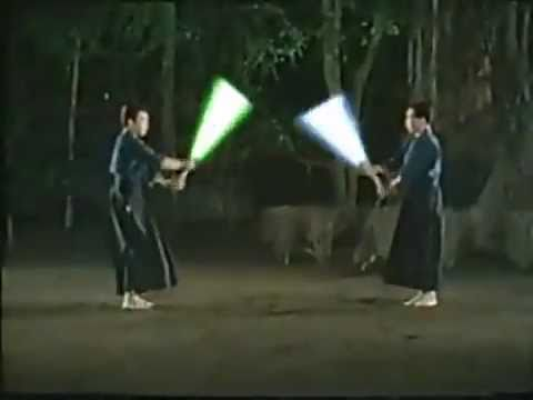 Lightsaber Practice by Kenjutsu Masters