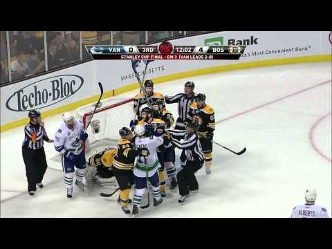 Bruins-Canucks Game 3 Stanley Cup Finals Highlights 6/6/11 1080p HD