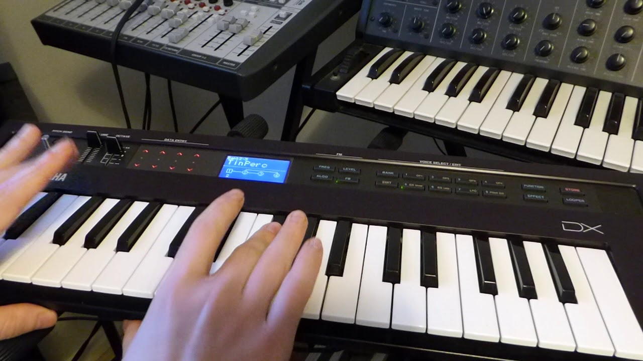 Yamaha Reface DX (Presets)
