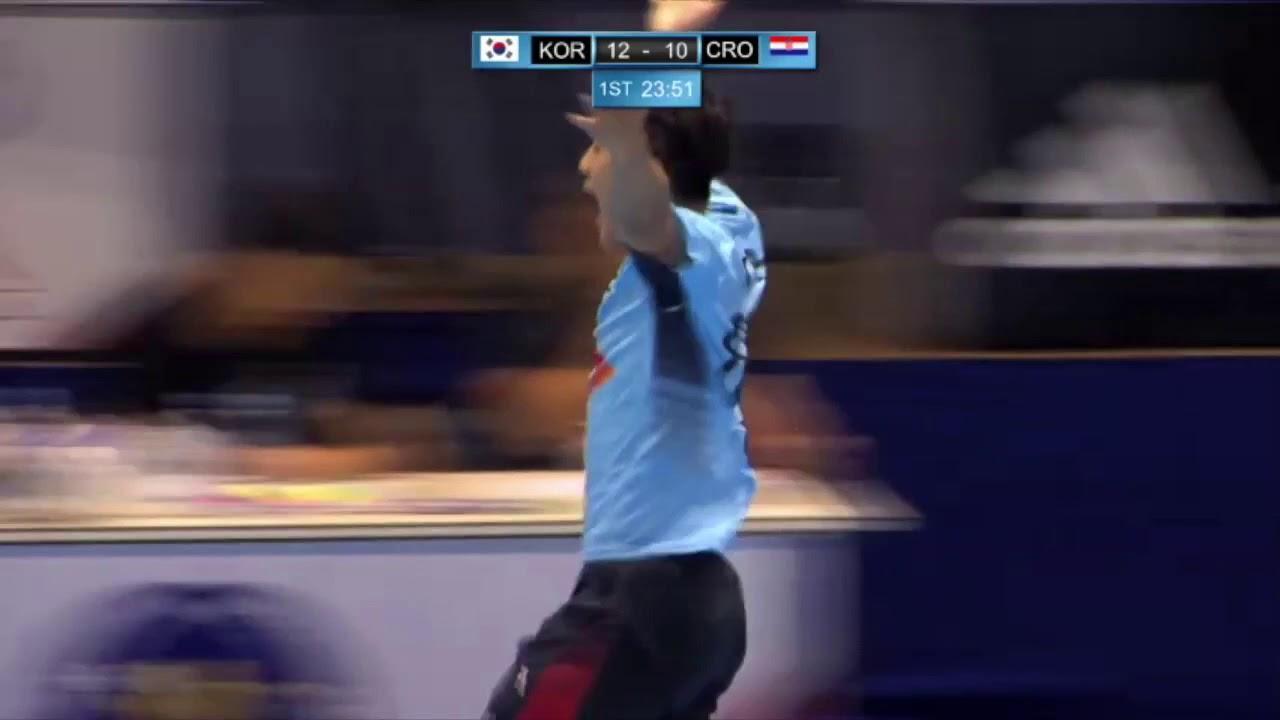 Handball Kempa In Korean Style Youtube