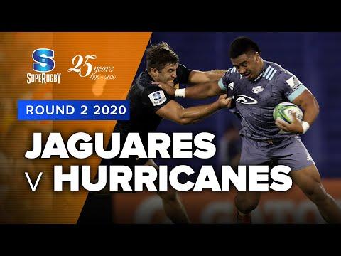 Super Rugby 2020   Jaguares v Hurricanes - Rd 2 Highlights