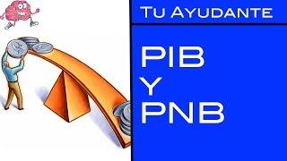 PIB y PNB / Tu Ayudante Economía.