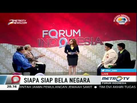 Forum Indonesia Metro TV: Siapa Siap Bela Negara