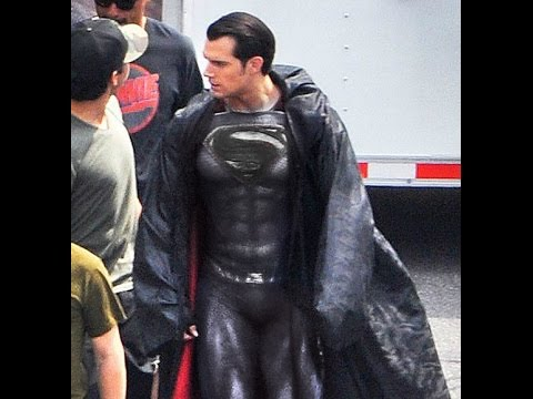 Justice League superman new black suit