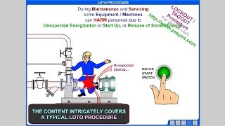 Lock Out Tag Out Procedure Training (LOTO process)