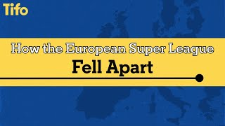 How the European Super League Fell Apart - A Timeline