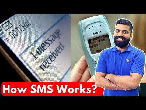 How SMS Works? Short Message Service!! Better than Whatsapp?