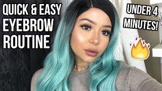 Easy Eyebrow Tutorial | Daisy Marquez