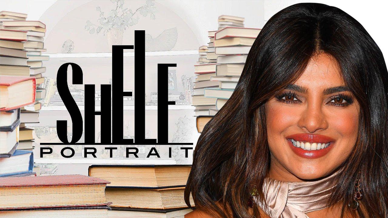Priyanka Chopra Jonas' Bookshelf Tour: See Her Favorite Reads! | Shelf Portrait | Marie Claire