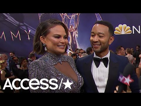 Emmys 2018: Chrissy Teigen & John Legend Crack Up Talking About Her Last Name Pronunciation | Access