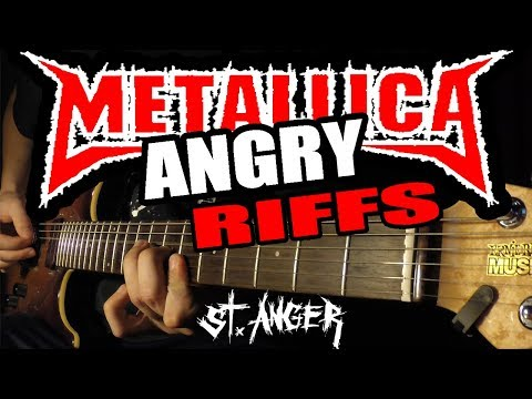 TOP 10 ANGRY METALLICA RIFFS