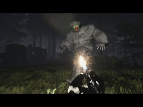 I enter the forest and encounter BIG FOOT! - Fernanfloo