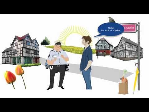 Deutsch Lernen Mit HARRY: Buchstabieren