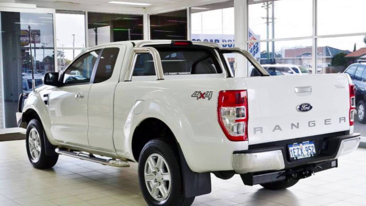 2015 ford ranger px xlt 3 2 4x4 white 6 speed automatic. Black Bedroom Furniture Sets. Home Design Ideas