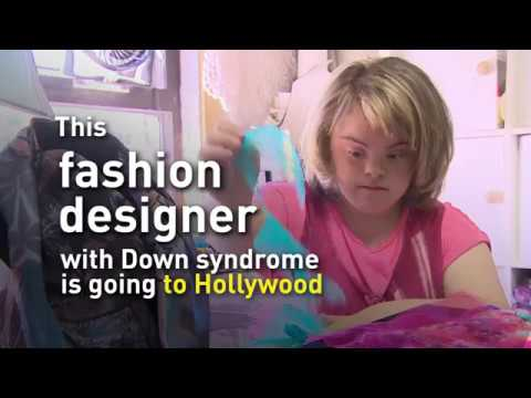 Fashion Designer With Down Syndrome Headed To Hollywood Youtube