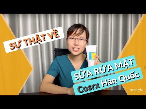 [Review] Sự thật về  Sữa rửa mặt Cosrx Hàn Quốc   Dr Duyên
