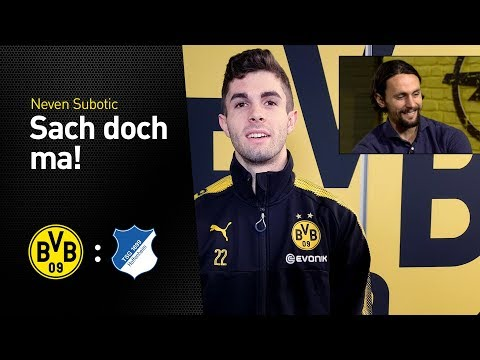 Christian Pulisic asks in German! | One more question, Neven Subotic!