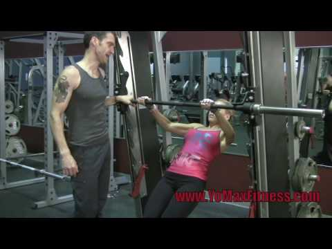 Push-ups and Pull-ups – Smith machine