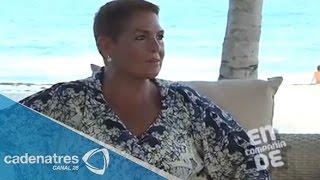 En compañía de... Lupita D'Alessio 31/08/14