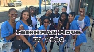Howard University Move In VLOG ft LOQSC