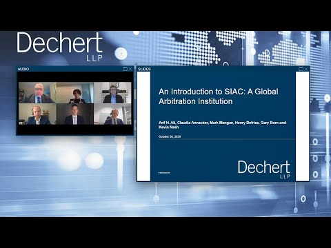 An Introduction to SIAC: A Global Arbitration Institution