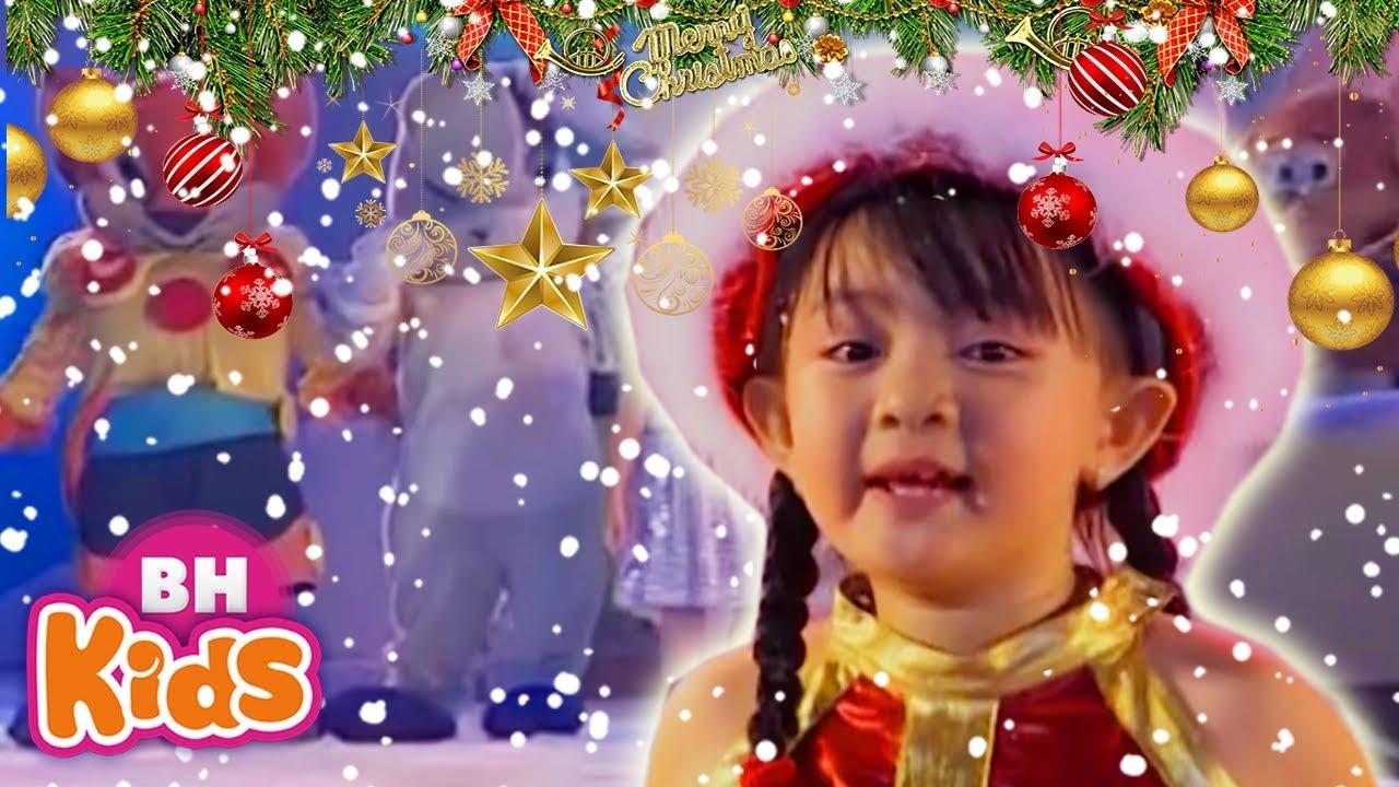 Rudoll ☃️Merry Christmas ❄️ Nhạc Giáng Sinh Thiếu Nhi Bé Xuân Mai - Nhạc Cho Bé
