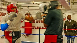 CHRIS EUBANK GYM WAR | UNSEEN FOOTAGE | INTENSE SPARRING | FULL 10 ROUNDS