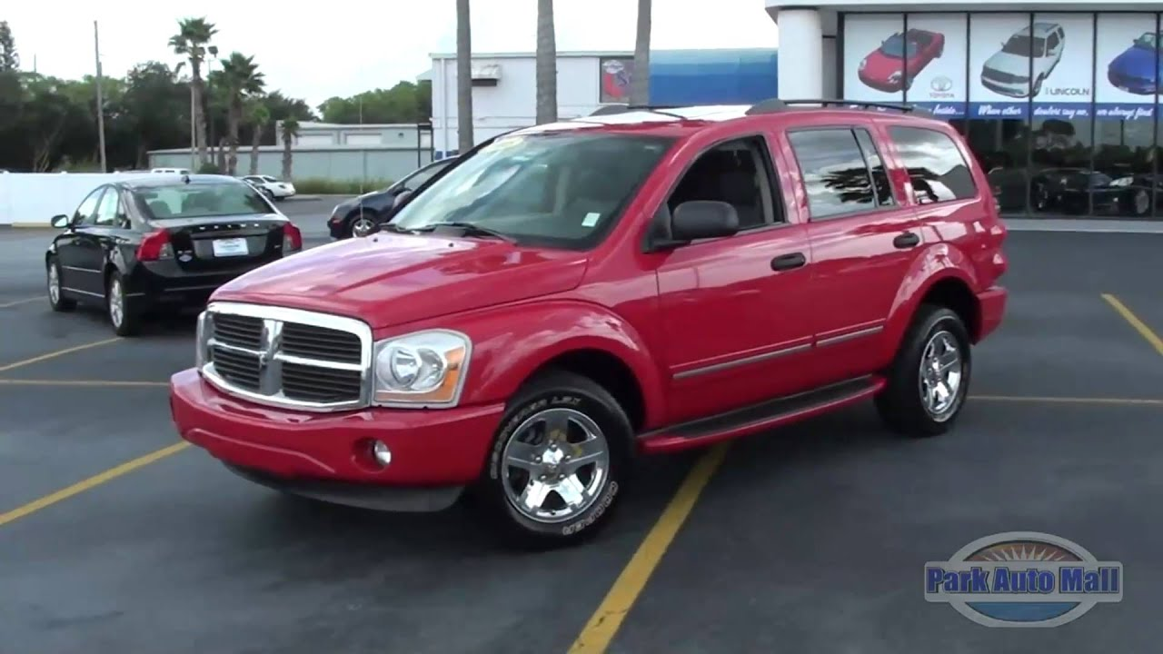Park Auto Mall >> 2005 Dodge Durango Limited 5.7 Liter Hemi Tampa Bay Florida - YouTube