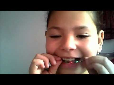 How to make fake braces with a bobby pin