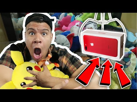 FOUND A HACKED ARCADE CLAW GAME!! *100% WIN RATE ARCADE HACKS*