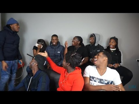 LNU: FILMING WITH BLACK PEOPLE...MESSIEST VIDEO EVER!!