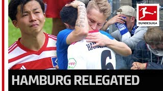 A Sad Day in Hamburg - Relegated For First Time in Bundesliga History