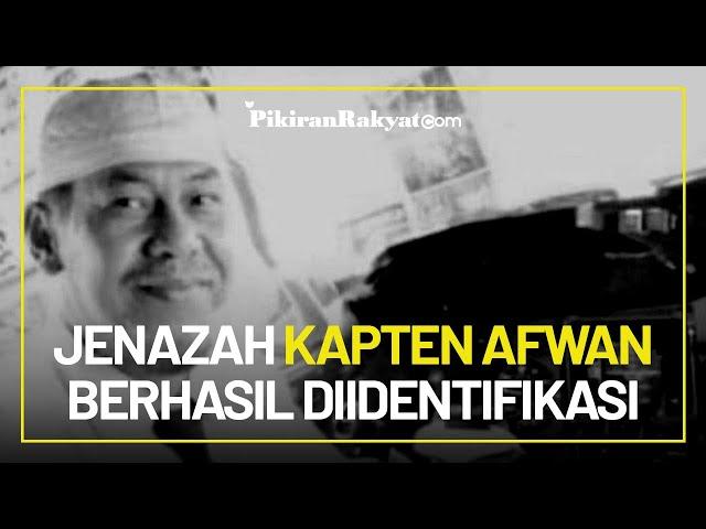 Akhirnya, Jenazah Kapten Afwan Berhasil Diidentifikasi Tim DVI Polri Bersama 2 Korban Sriwijaya Air