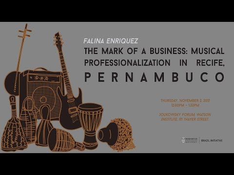 The Mark of a Business: Musical Professionalization in Recife, Pernambuco