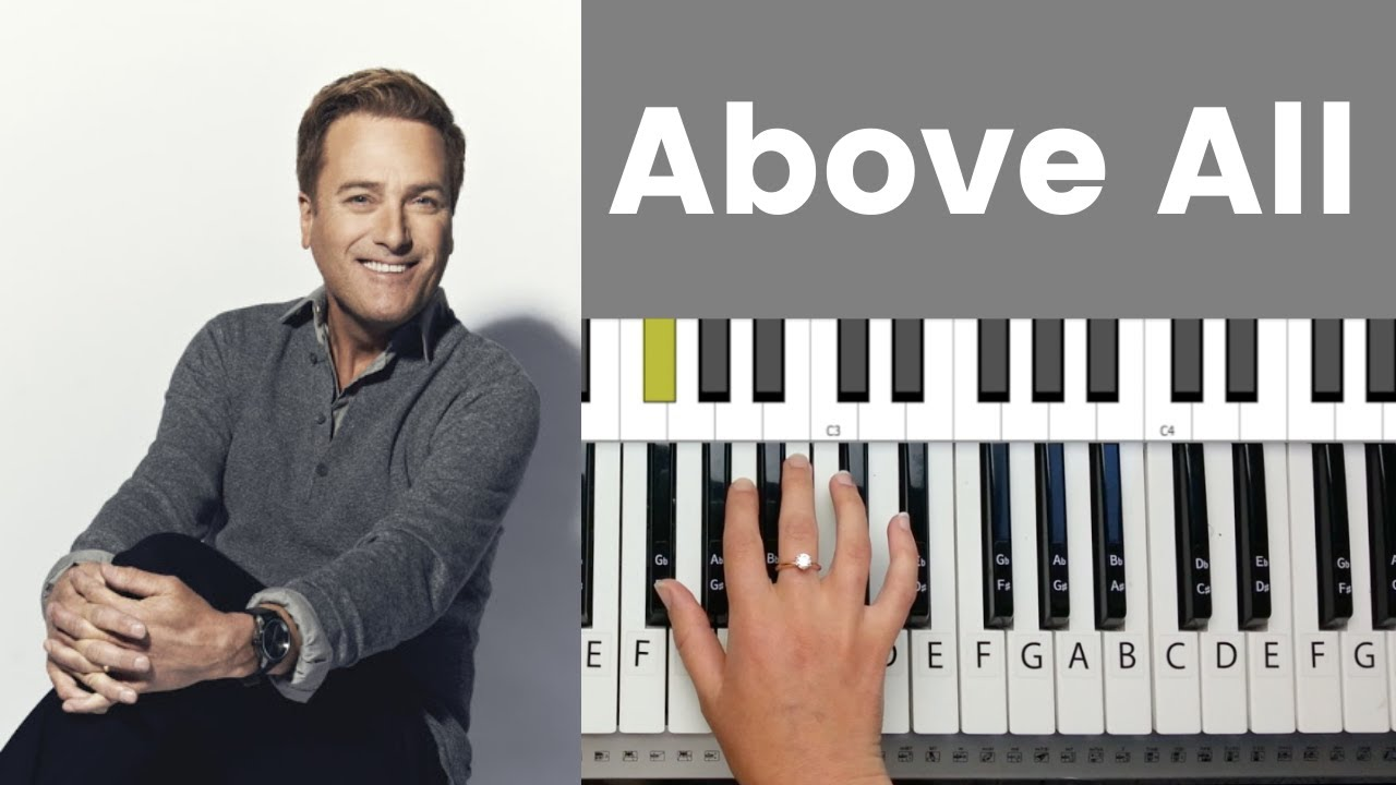 Above All - Michael W. Smith Piano Tutorial and Chords