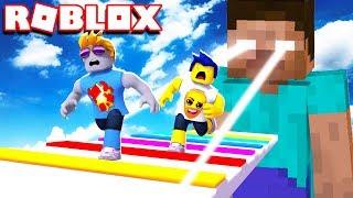 SURVIVE HEROBRINE IN ROBLOX!! (ESCAPE HEROBRINE OBBY)