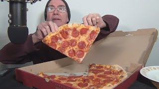 ASMR Eating Sals Pepperoni Pizza Whispering