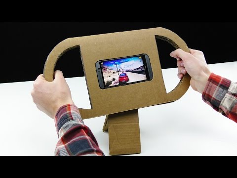 Thumbnail: How to Make a Gaming Steering Wheel for Any Smartphone or Tablet
